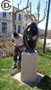 Vignette de l'acutalité Socle sculpture TOROS - Romans sur Isère